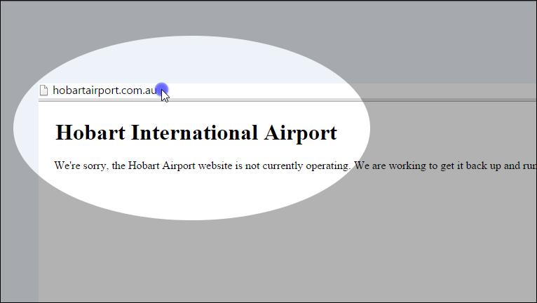 hobart-international-airport-website-hacked